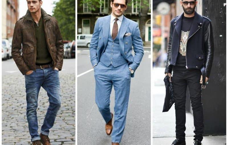 تنسيق الألوان ملابس الرجال تتوافق مع الأسود