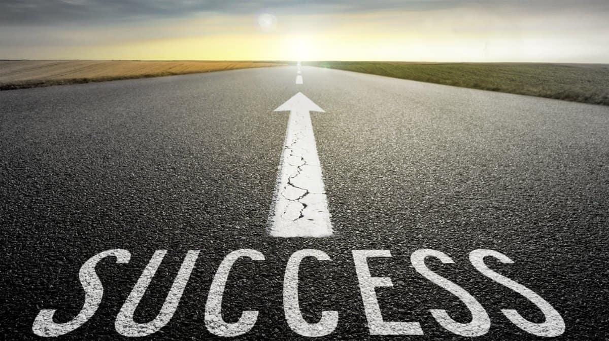 موضوع عن النجاح بالإنجليزي