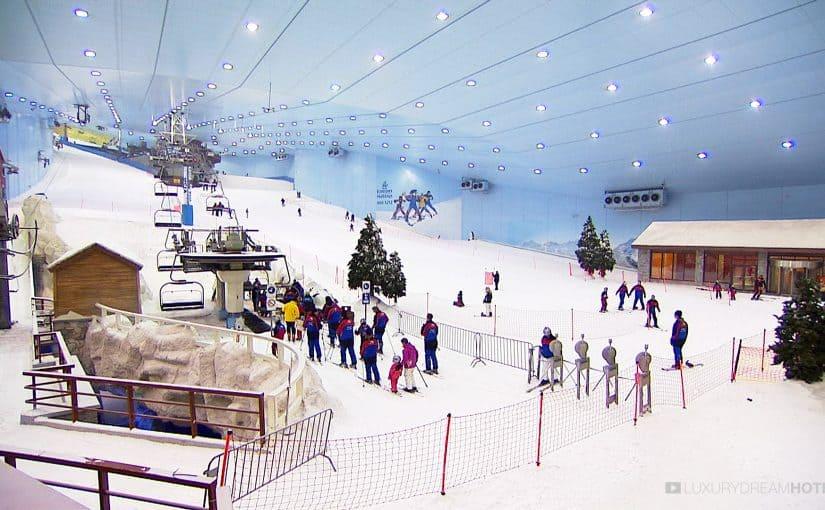 أسعار سكي دبي الإمارات مول المدينة الثلجية موسوعة