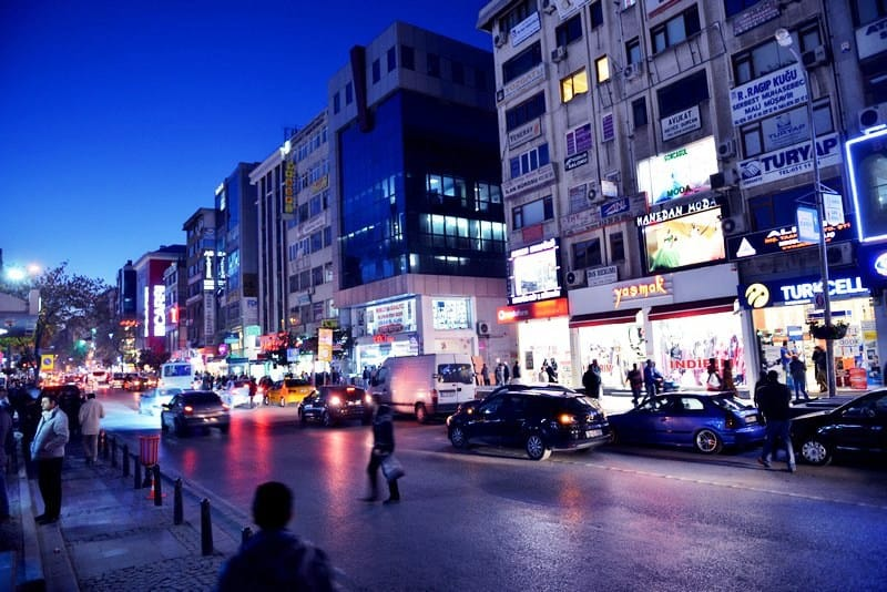 Baghdad street Istanbul