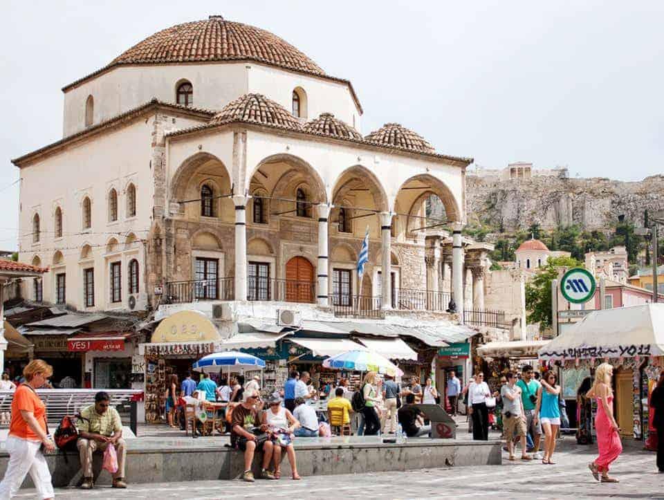 أسواق أثينا