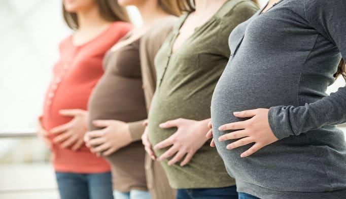 الحمل بالشهر الثالث