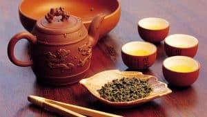 الشاى الصينى