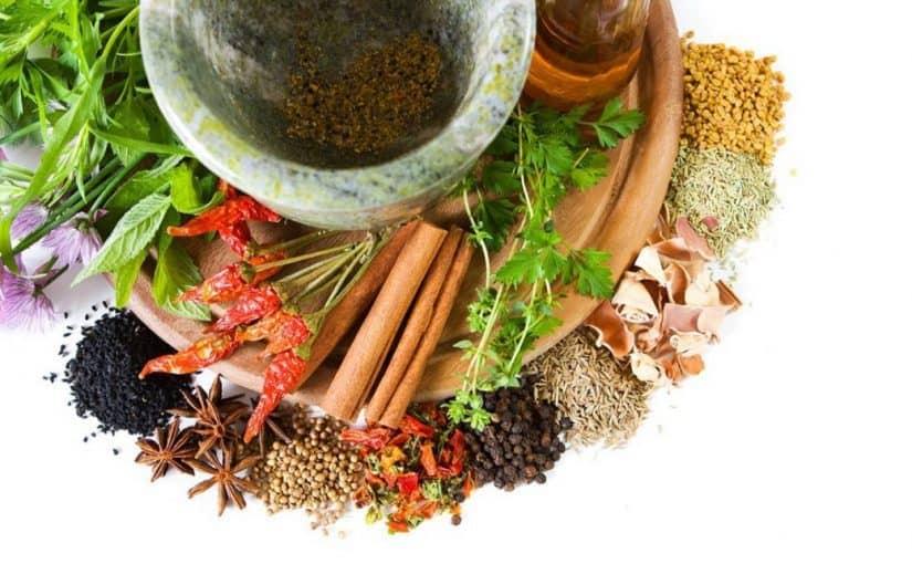 علاج آلام الركبة بالأعشاب