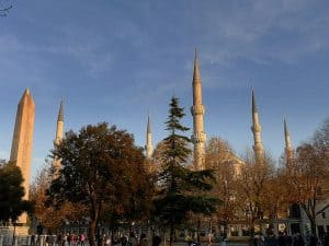منطقة السلطان أحمد في مدينة إسطنبول