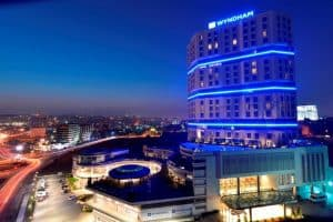 موقع فندق ويندهام جراند إسطنبول