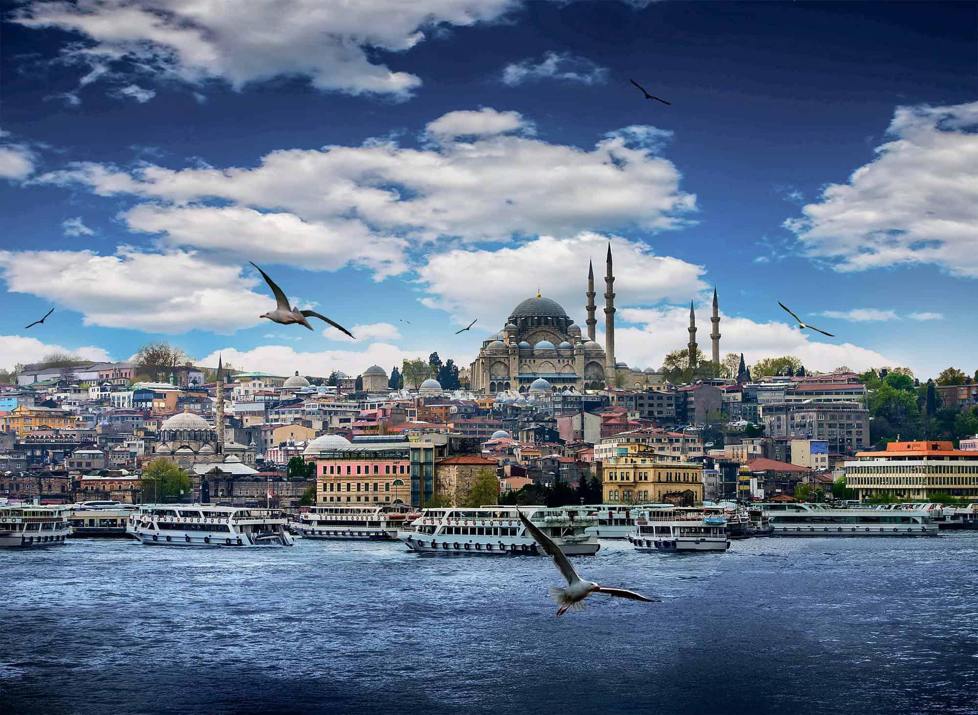 الأماكن السياحية في تركيا إسطنبول