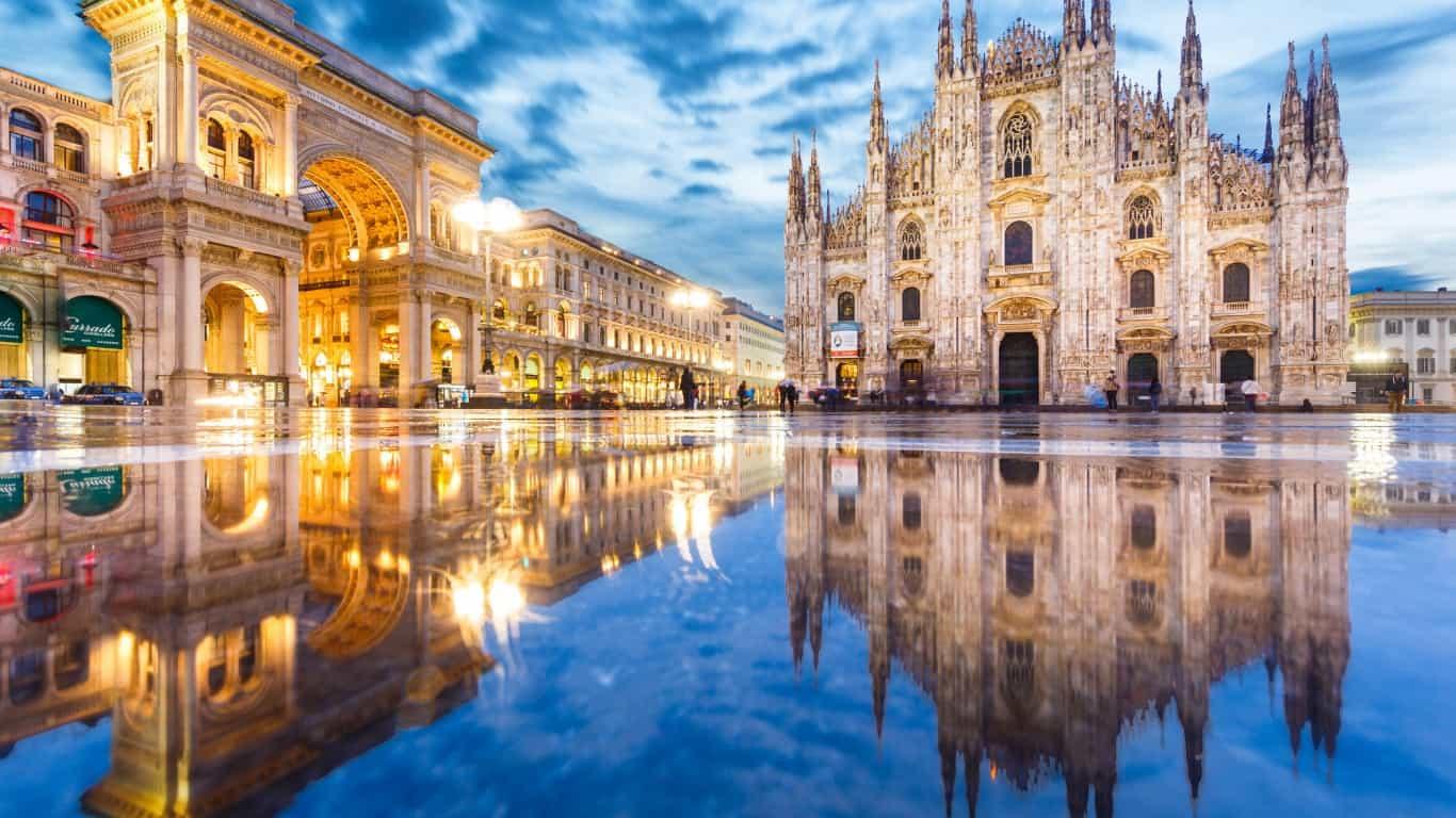 الأماكن السياحية في ميلانو