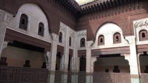 المدرسة البوعنانية في مدينة فاس المغرب