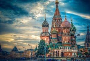 حرم الكرملين في مدينة موسكو روسيا
