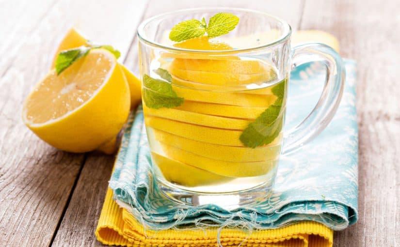 رجيم الليمون والماء الساخن