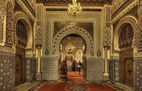 زاوية مولاي إدريس في مدينة فاس المغرب