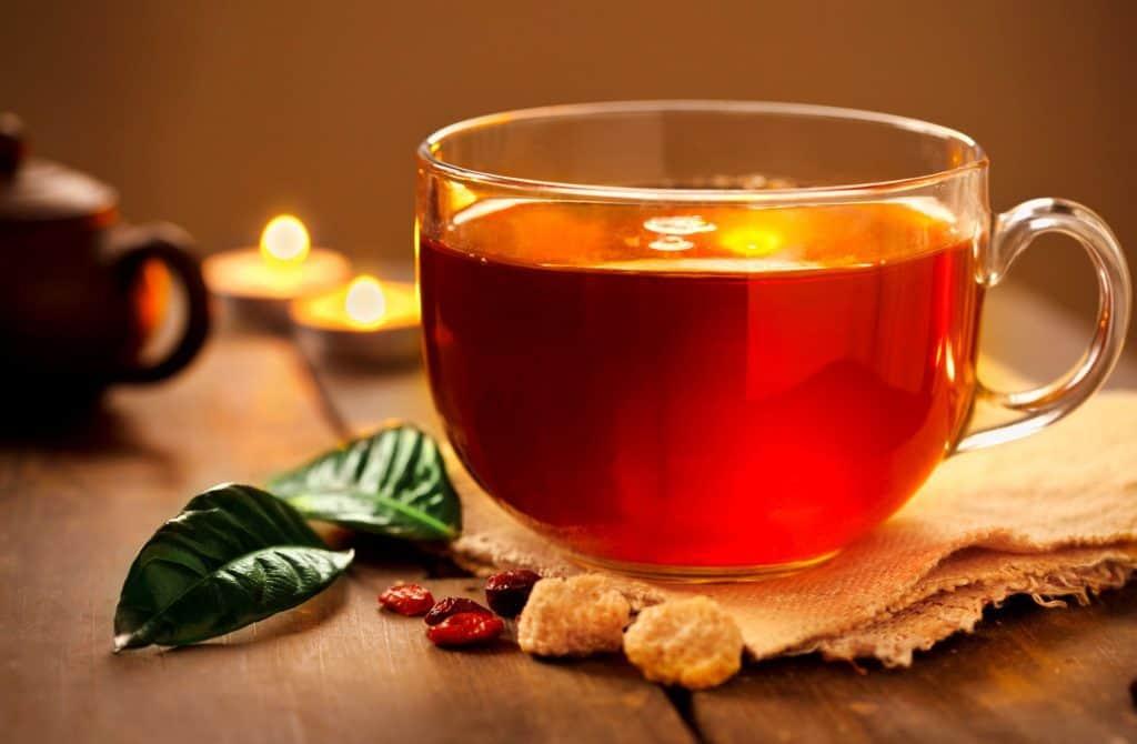 الشاي الأحمر أكثر فاعلية في انقاص الوزن