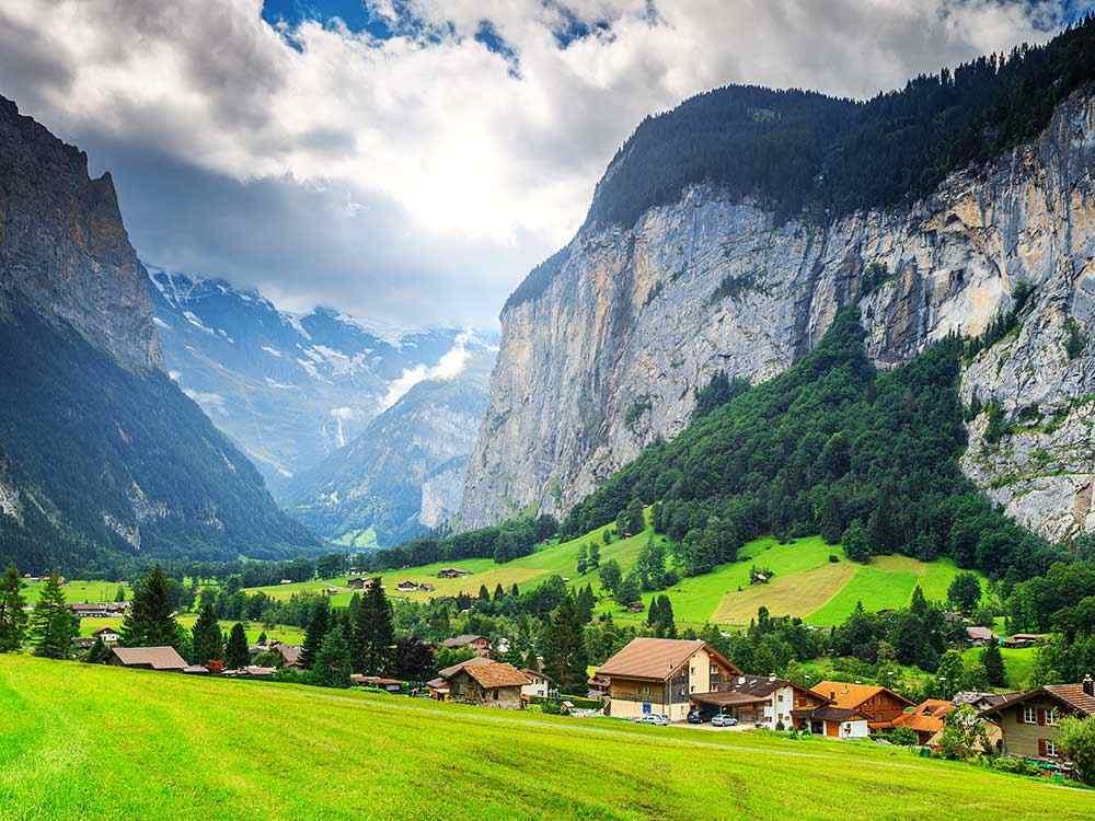 المناطق السياحية في سويسرا