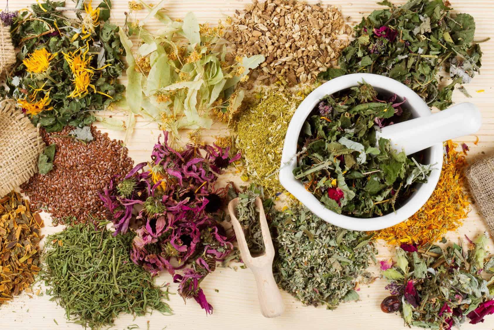 علاج الشرقة بالأعشاب