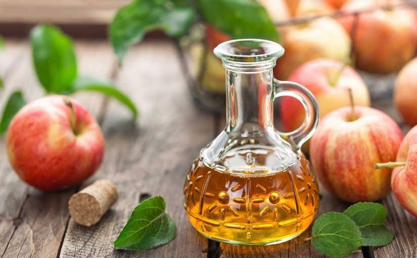 الجنزبيل وخل التفاح للأكتاف