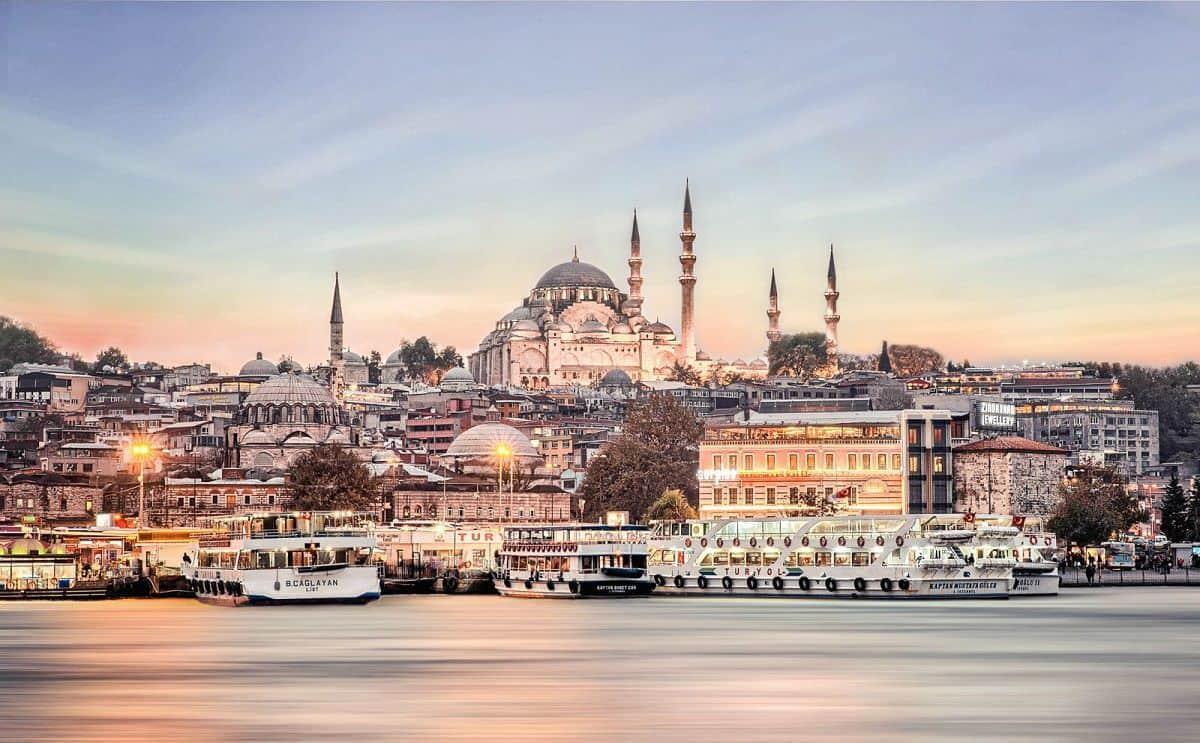برنامج رحلة في إسطنبول