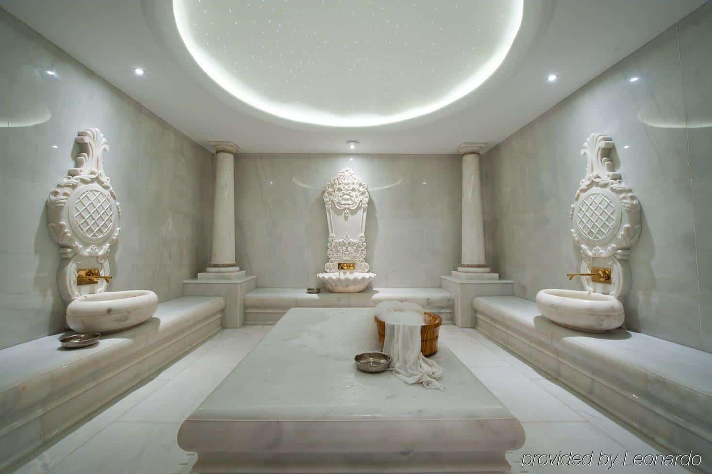 حمامات تركية في تقسيم