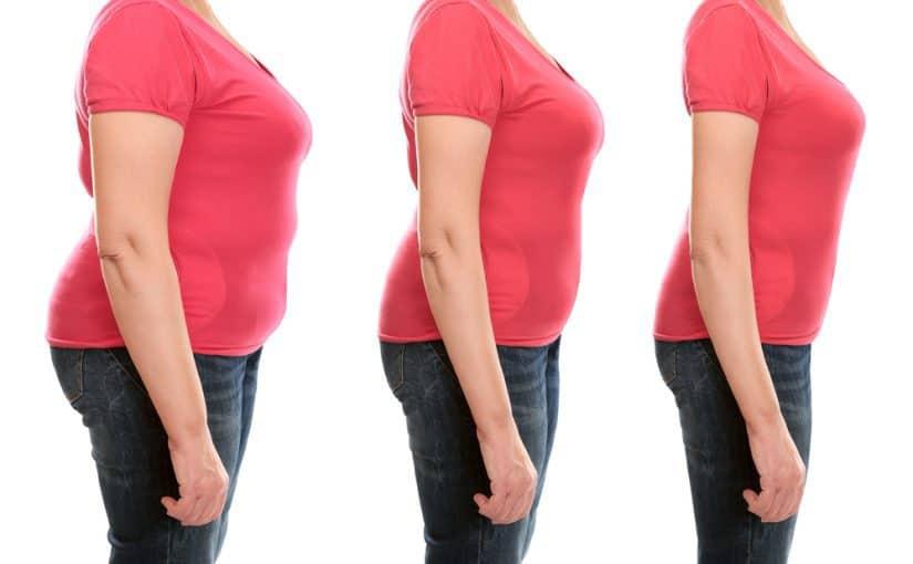 شكل الجسم بعد فقدان الوزن