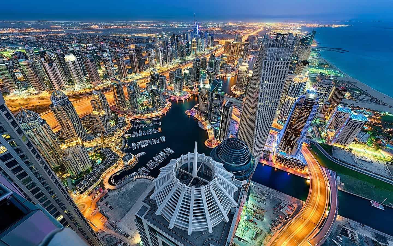 صور عن مناطق في دبي