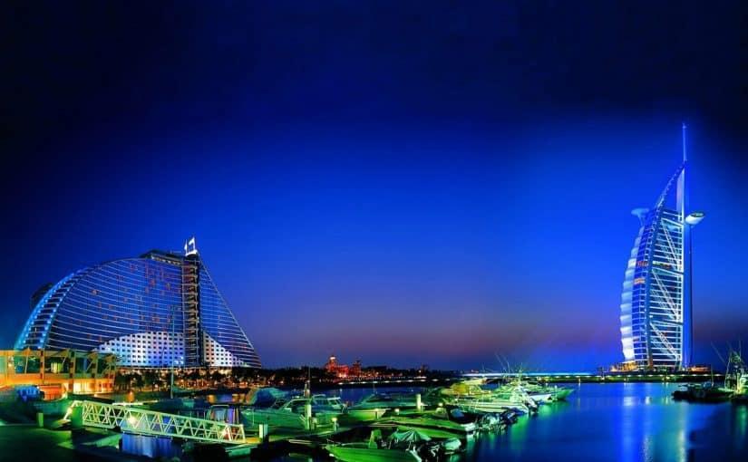 كهف الملح في مدينة دبي