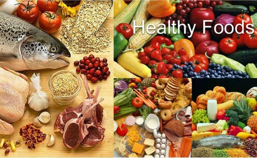 مطوية عن الغذاء الصحي