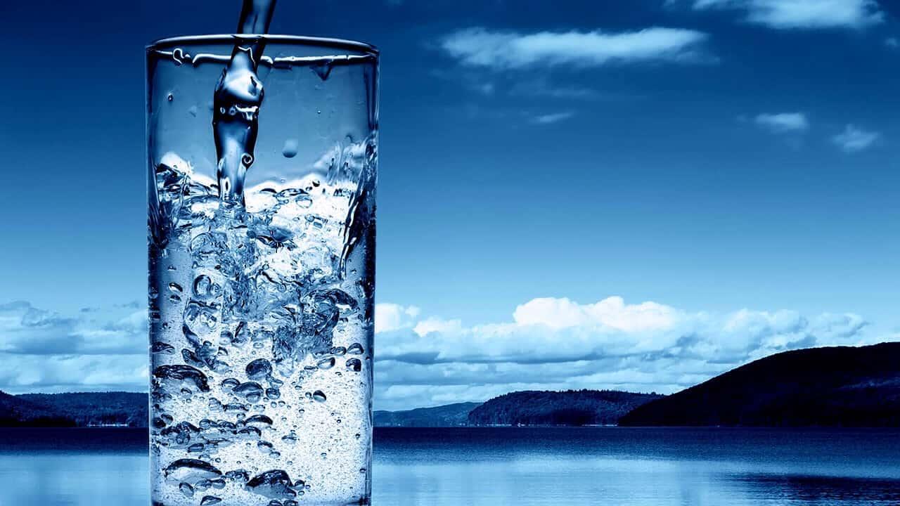 توزيع الماء في المنام