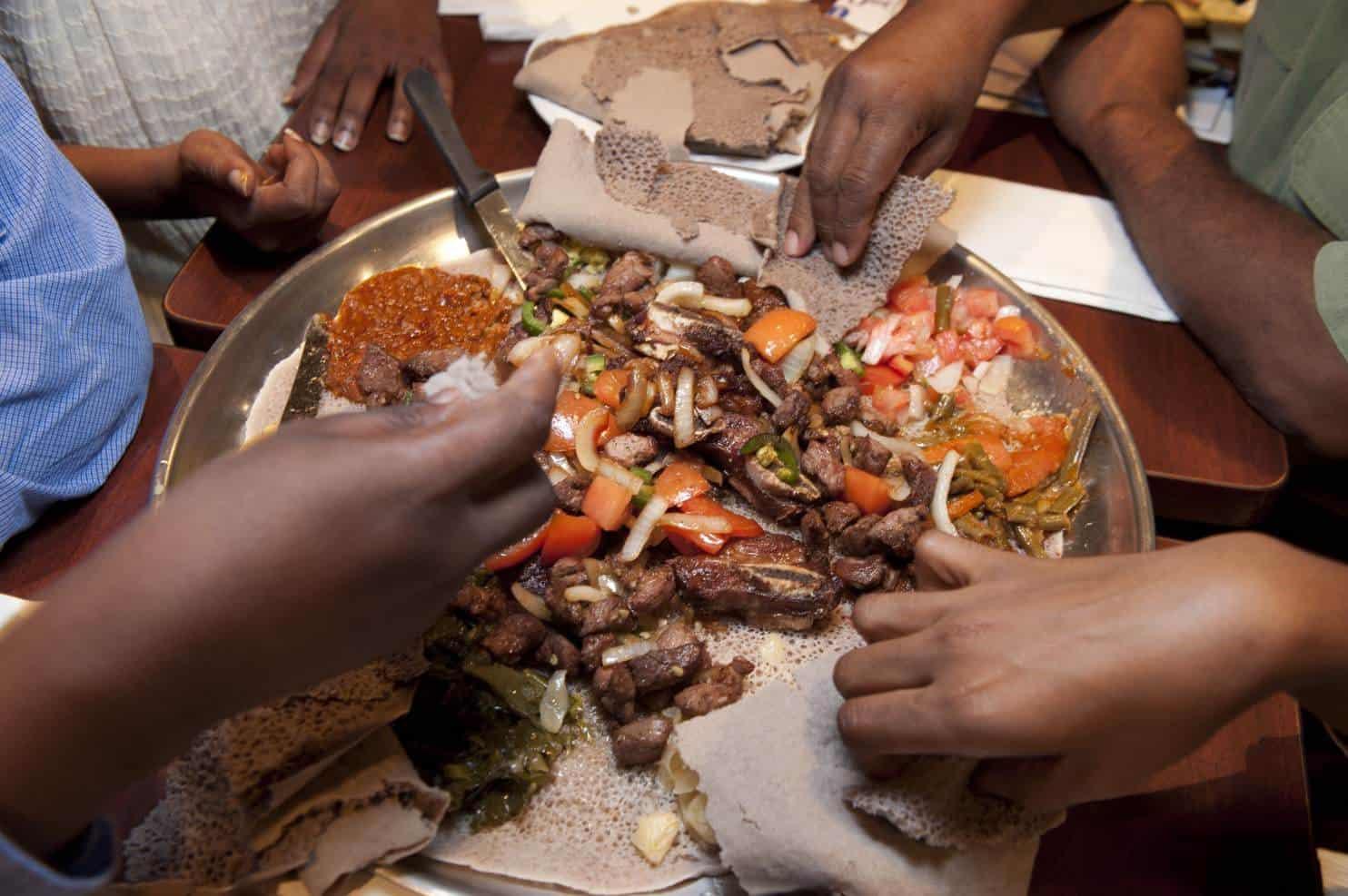 عادات شعوب افريقيا في الاكل