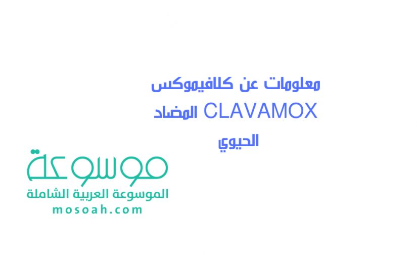 معلومات عن كلافيموكس CLAVAMOX المضاد الحيوي