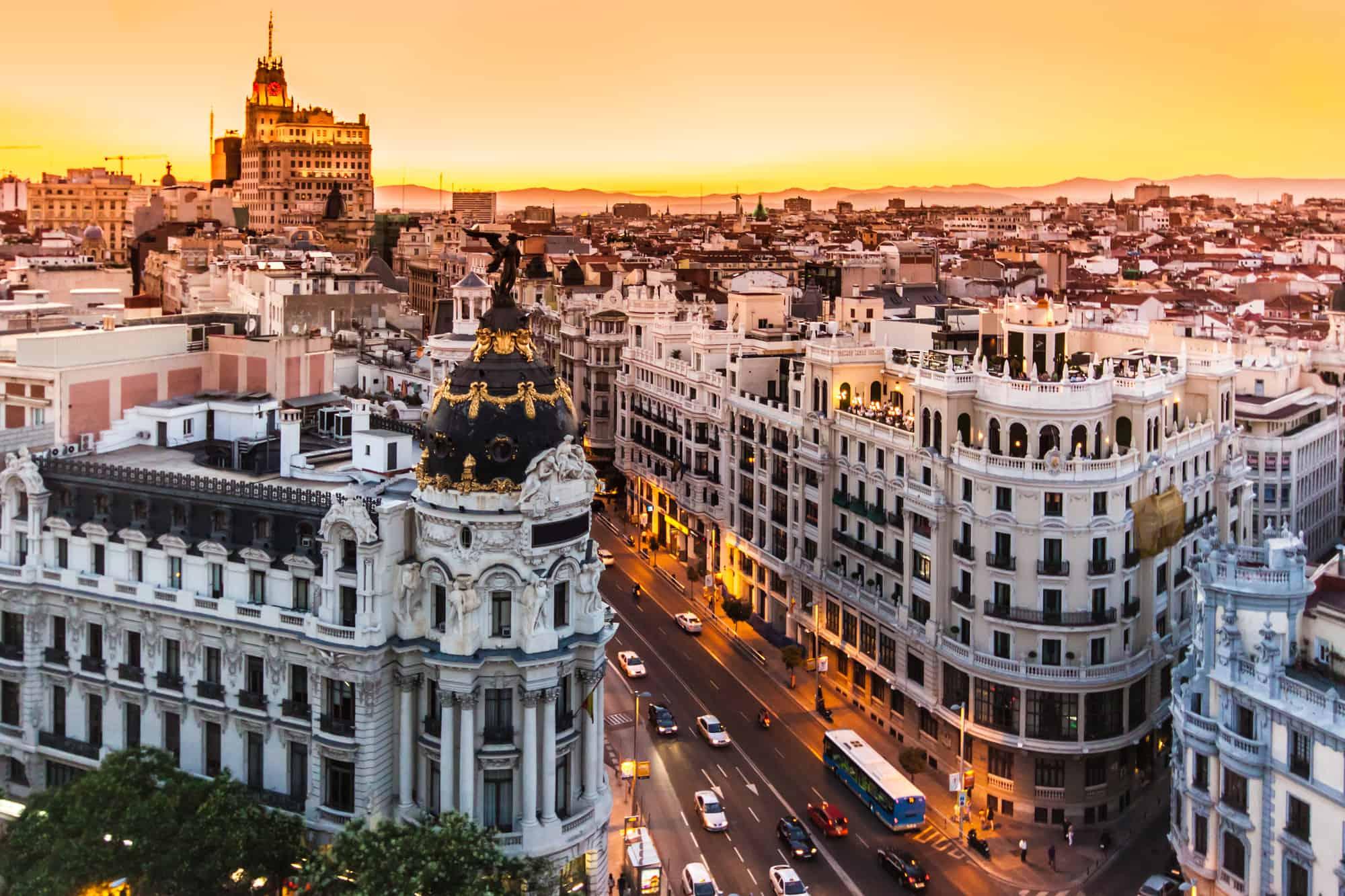 مدريد لقضاء أفضل شهر عسل