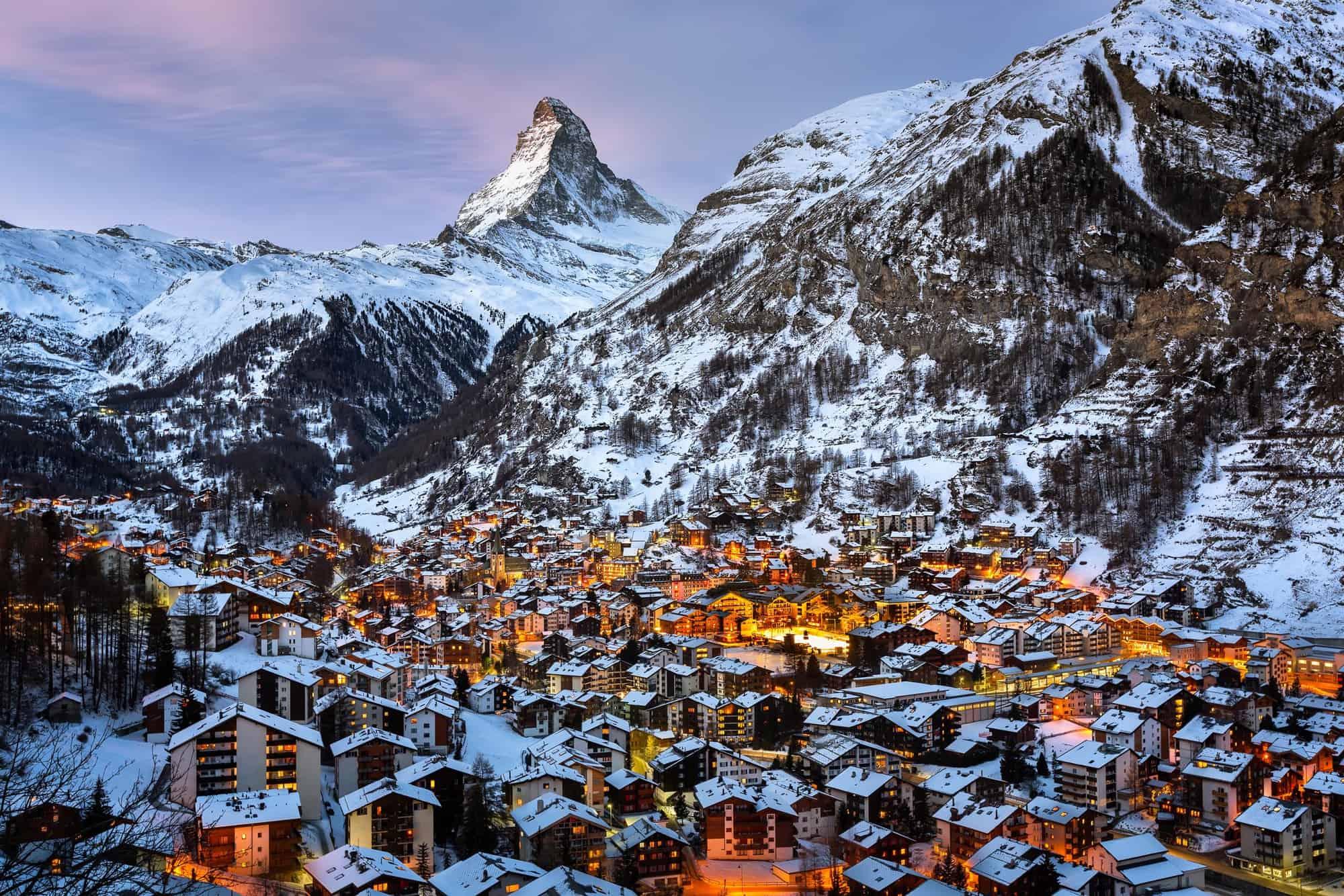 قرية زيرمات السويسرية