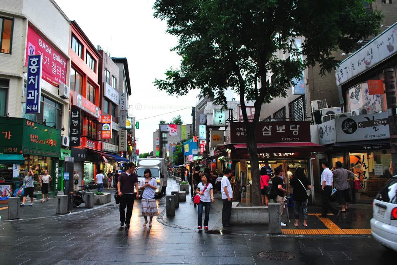انسادونغ في كوريا