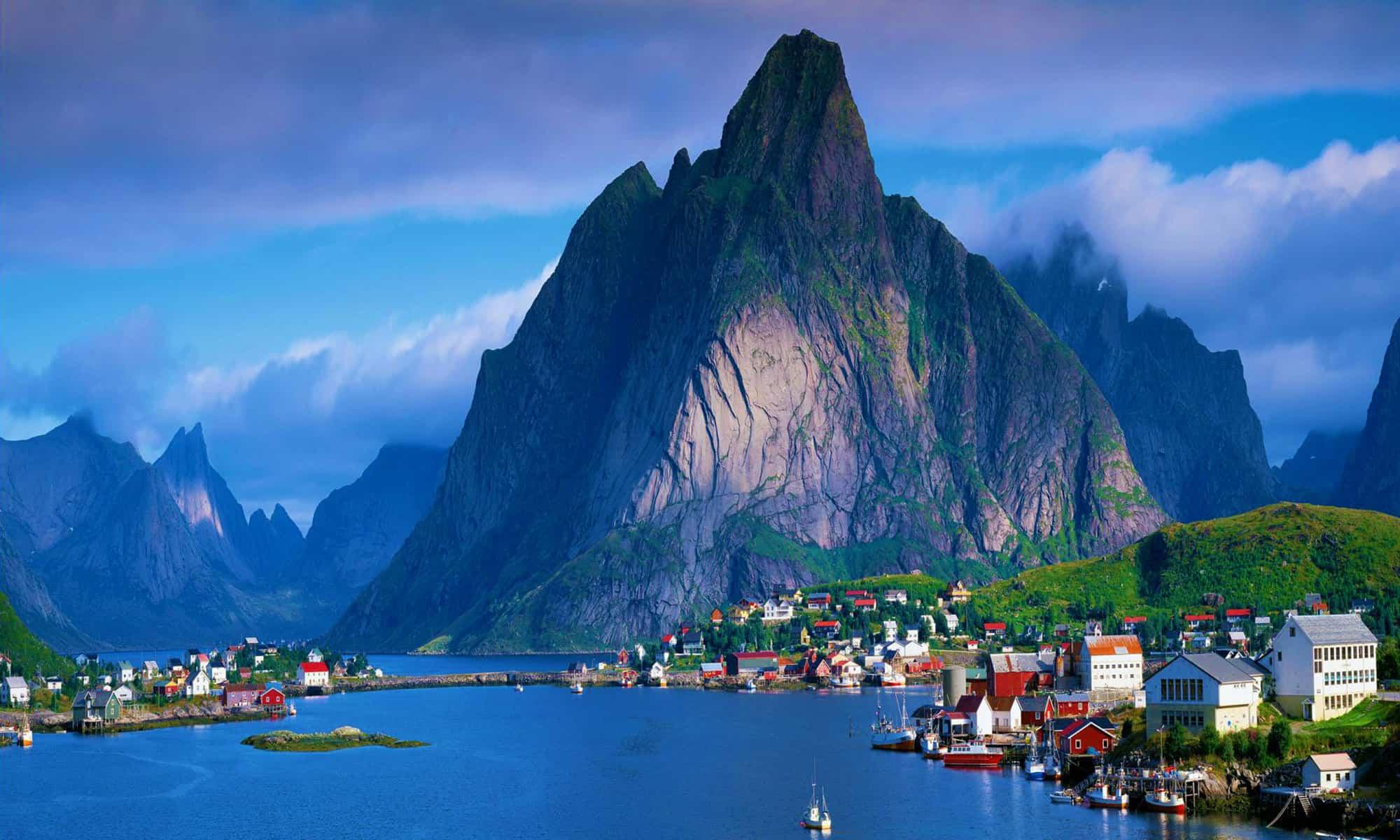 اجمل المدن في النرويج summer