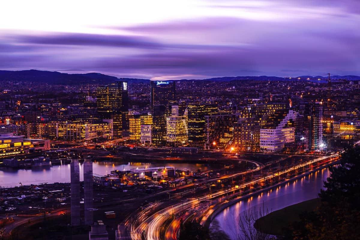مدينة اوسلو (العاصمة النرويجية)