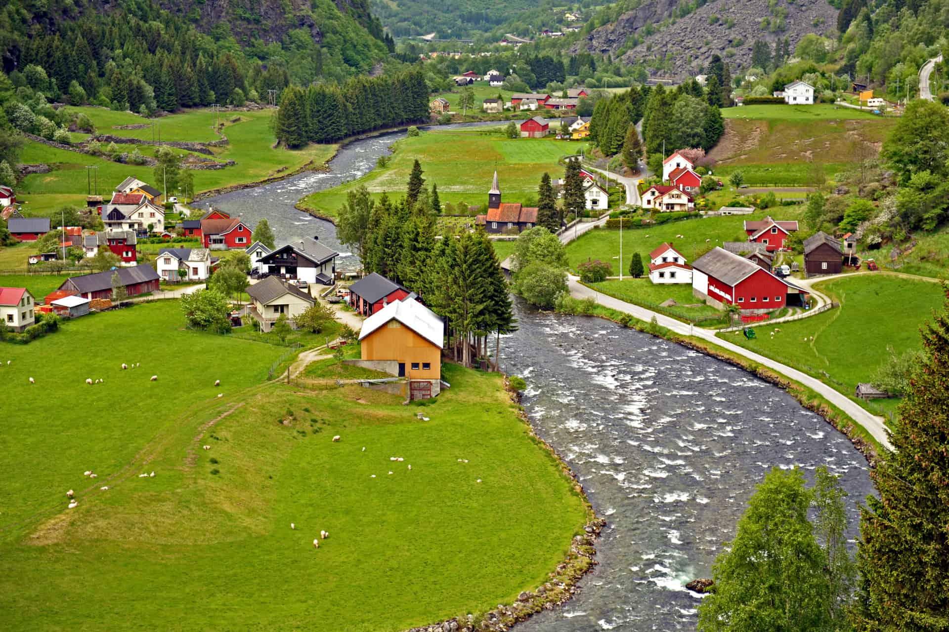 فلام أجمل الوجهات بالنرويج