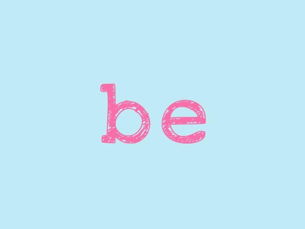 ترجمة كلمة be
