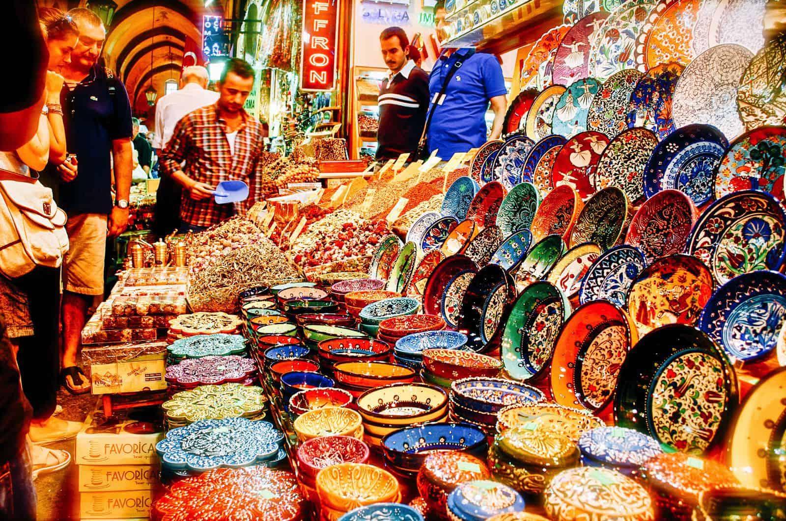 محلات لأعشاب بالسوق المصري