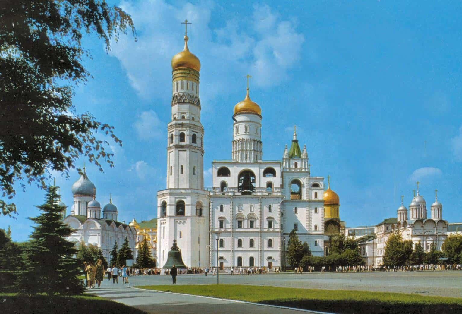 برج اجراس إيفان الكبير في روسيا