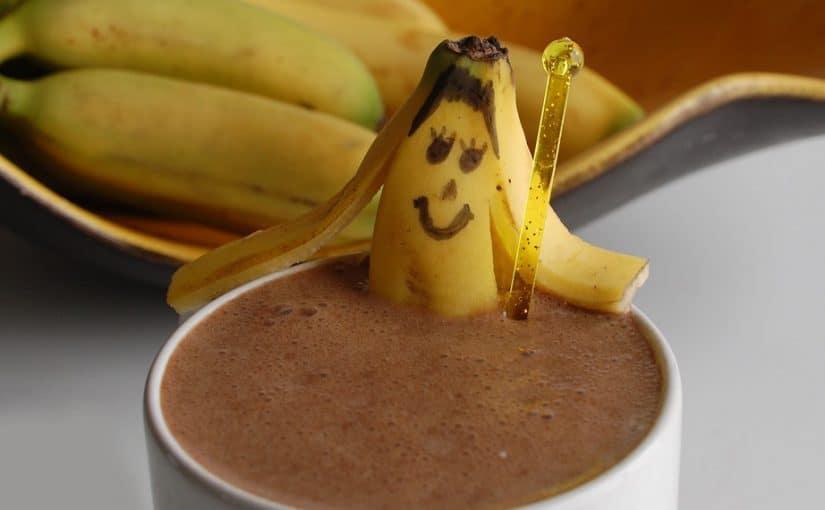 رجيم الموز والقهوه
