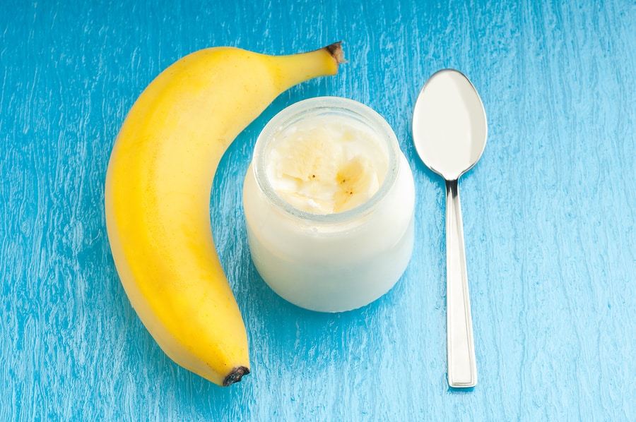 رجيم الموز والزبادي