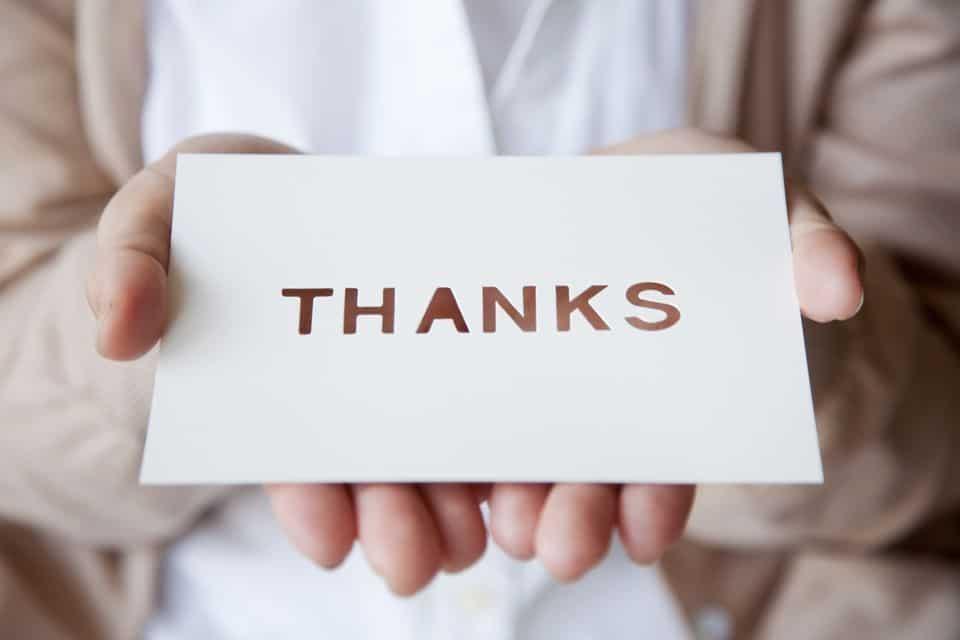 شهادة شكر وتقدير لموظف