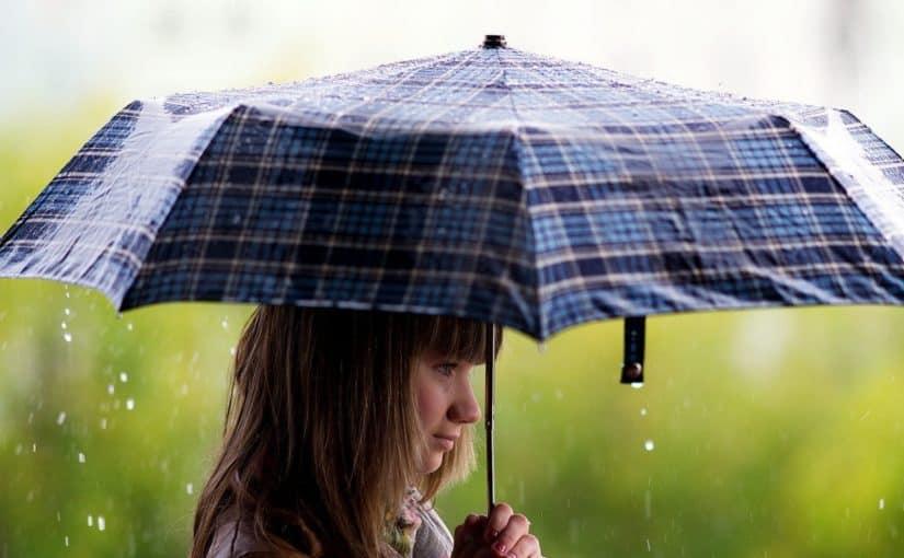 مظلة مطر