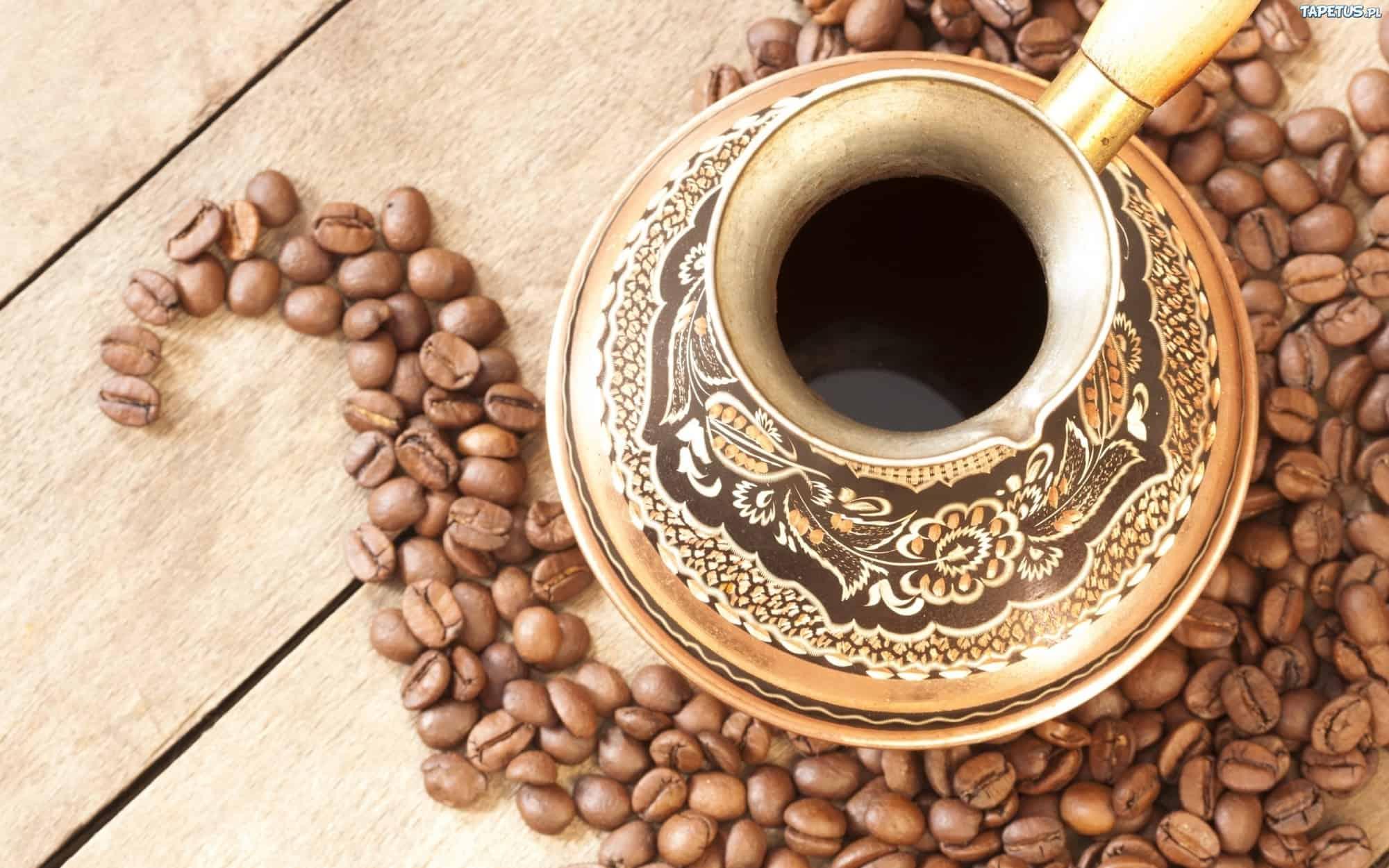 مكونات القهوة التركية