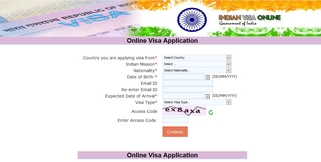 تأشيرة الهند