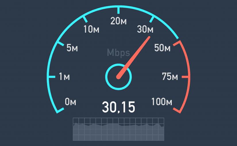 كيف اعرف سرعة النت