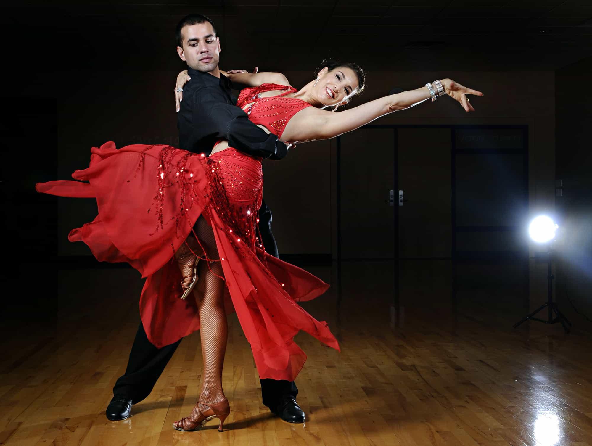 خطوات تعلم الرقص