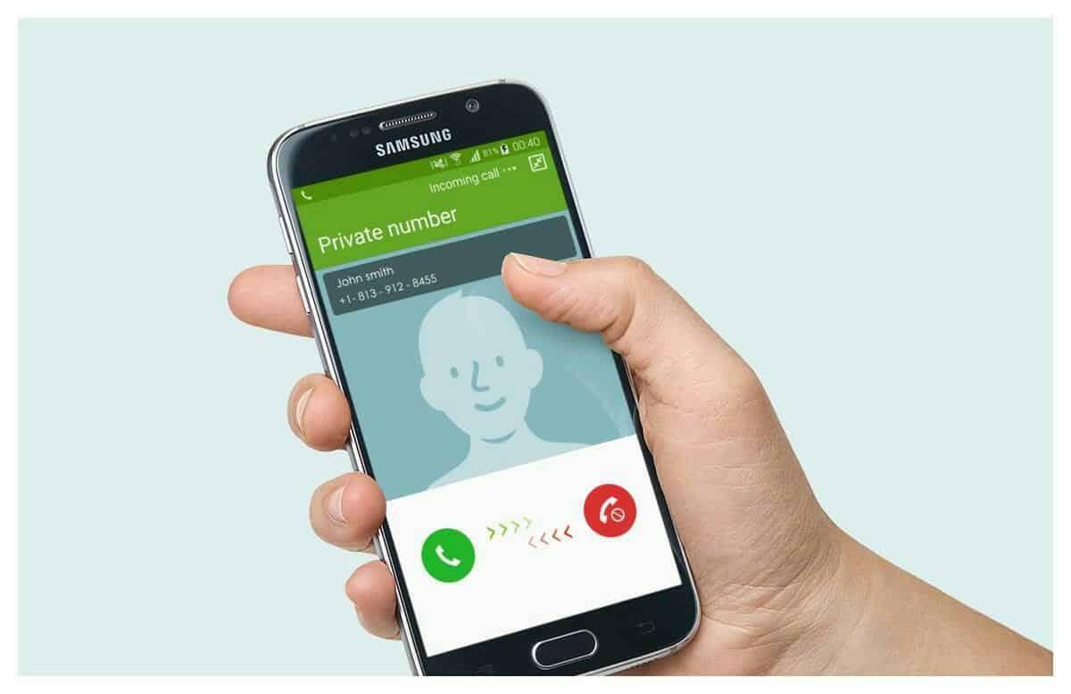 طريقة اخفاء رقم المتصل في السامسونج