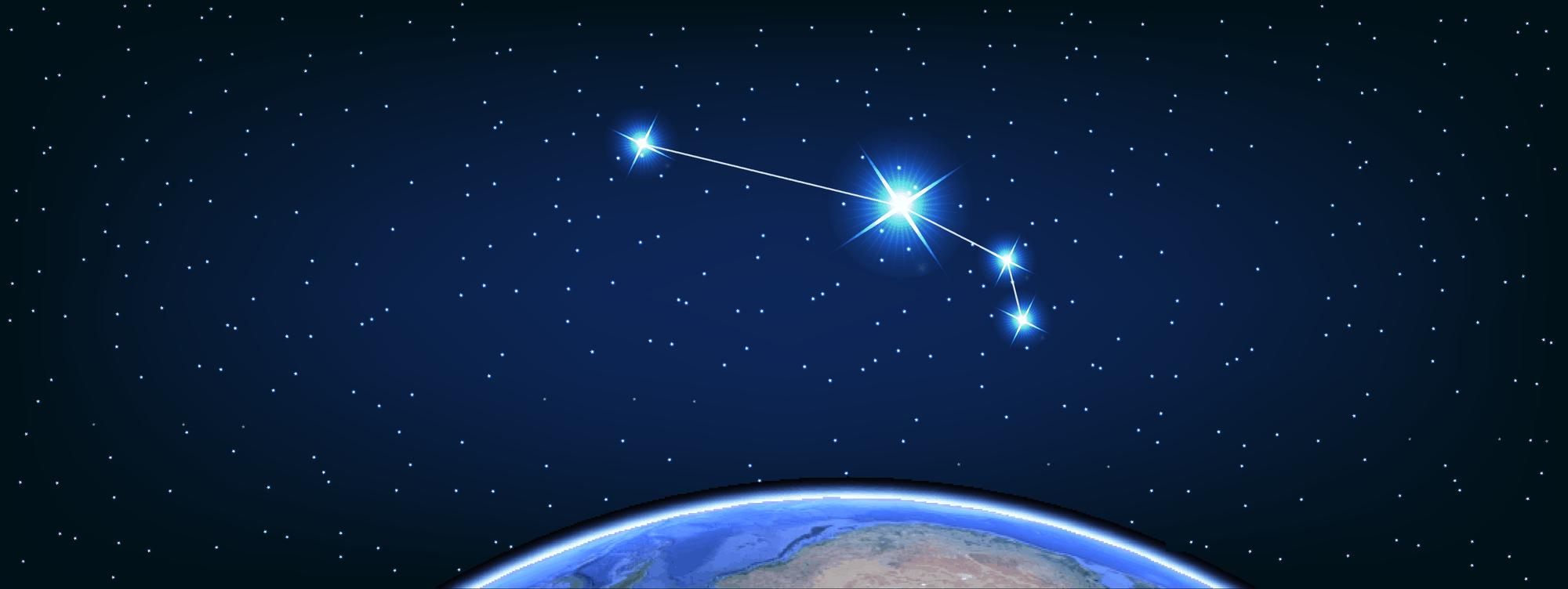 Созвездие овна картинка