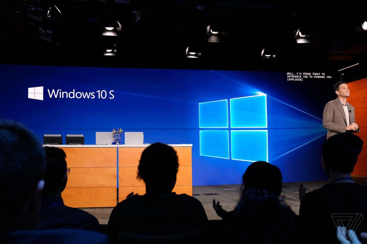 ما هو اصدار windows 10 s