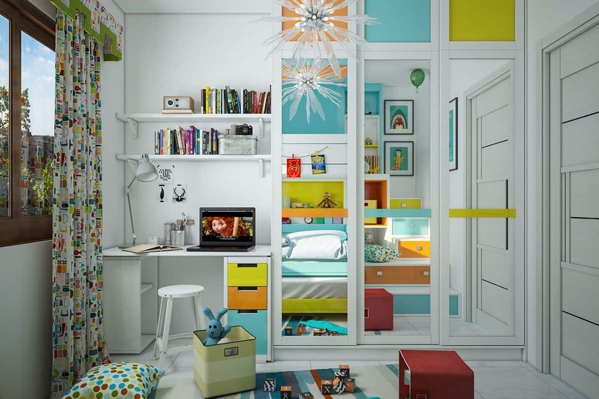 مكاتب اطفال للأولاد صغيرة
